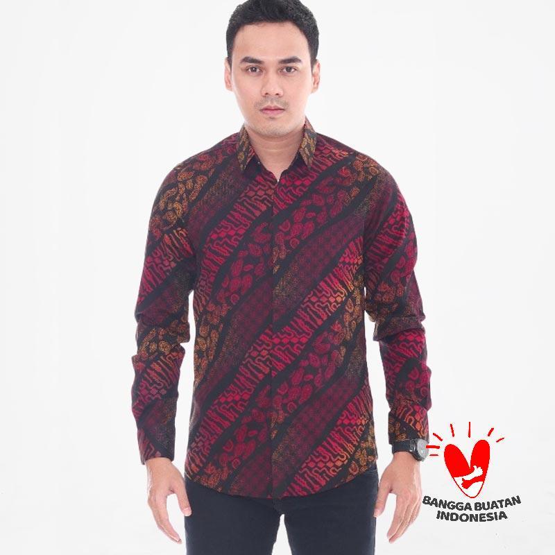 R B Store Shirt Slimfit Kemeja Batik Pria  B2  0b7c768fbd