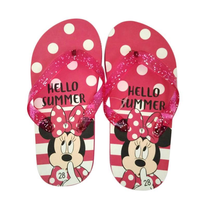 Jual Minnie Mouse 0880050016 Sandal Anak Perempuan - Pink Terbaru - Harga Promo Juli 2019 | Blibli.com