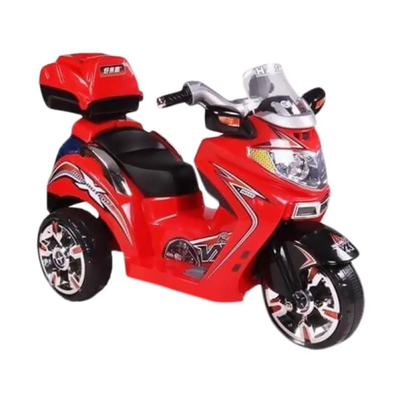 Pliko Motor Vespa Scoopy Besar Ride On Toys