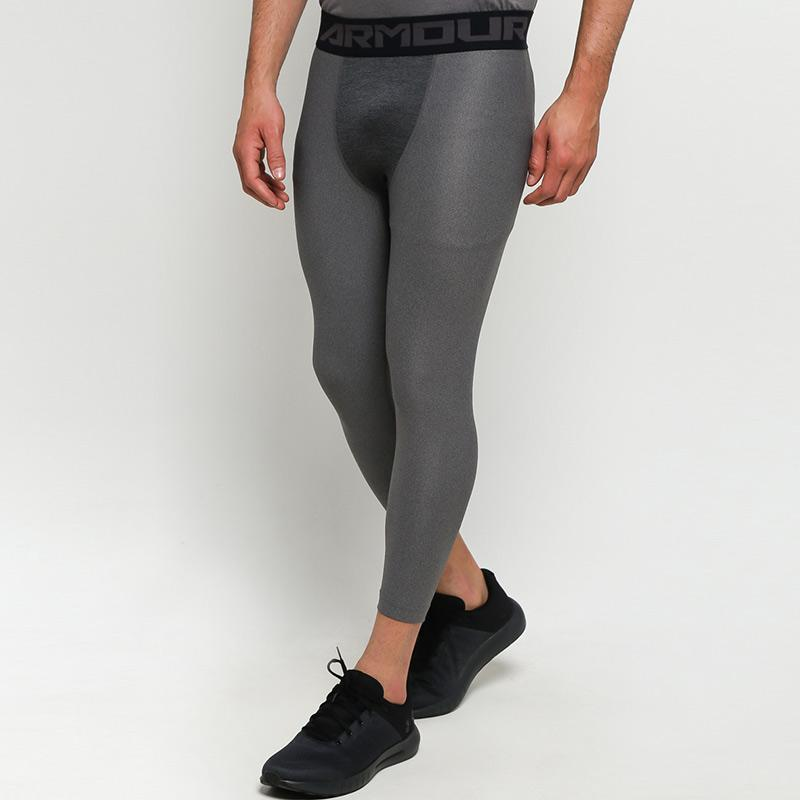Jual Under Armour Men Training Heatgear Armour 3 4 Legging Celana Olahraga Pria Carbon Heather Black 1289574 090 Online Oktober 2020 Blibli Com