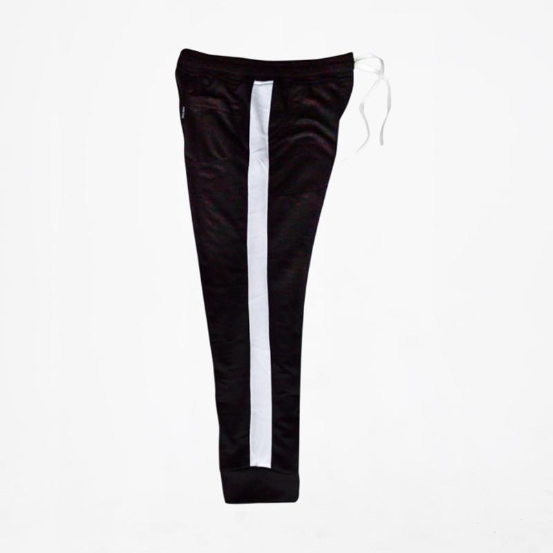 Jual Helder Denim Stripe Celana Jogger Pria Hitam Putih Online Oktober 2020 Blibli Com