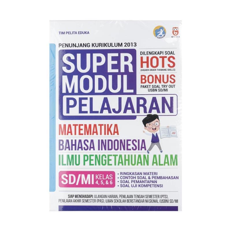 Jual Super Modul Pelajaran Matematika Bahasa Indonesia Ipa Sd Mi Kelas 4 5 6 Online Oktober 2020 Blibli Com