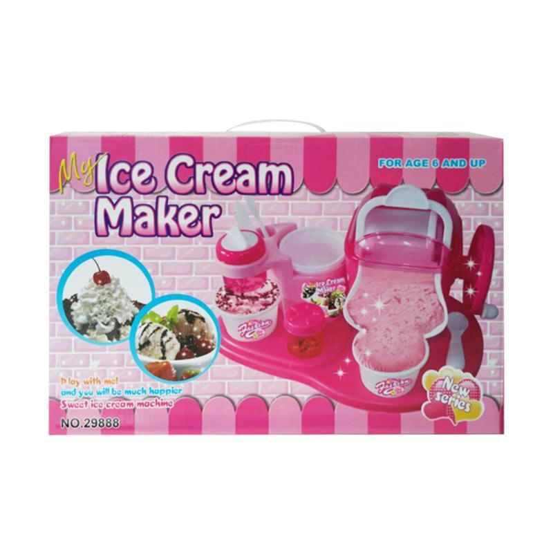Jual Mainananakbaby Ice Cream Maker Mesin Pembuat Es Krim Mainan Anak Online Oktober 2020 Blibli Com