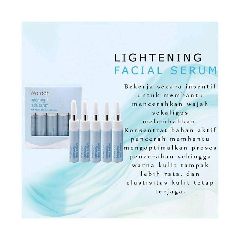 Jual Wardah Lightening Facial Serum 5x5 Ml Online April 2021 Blibli