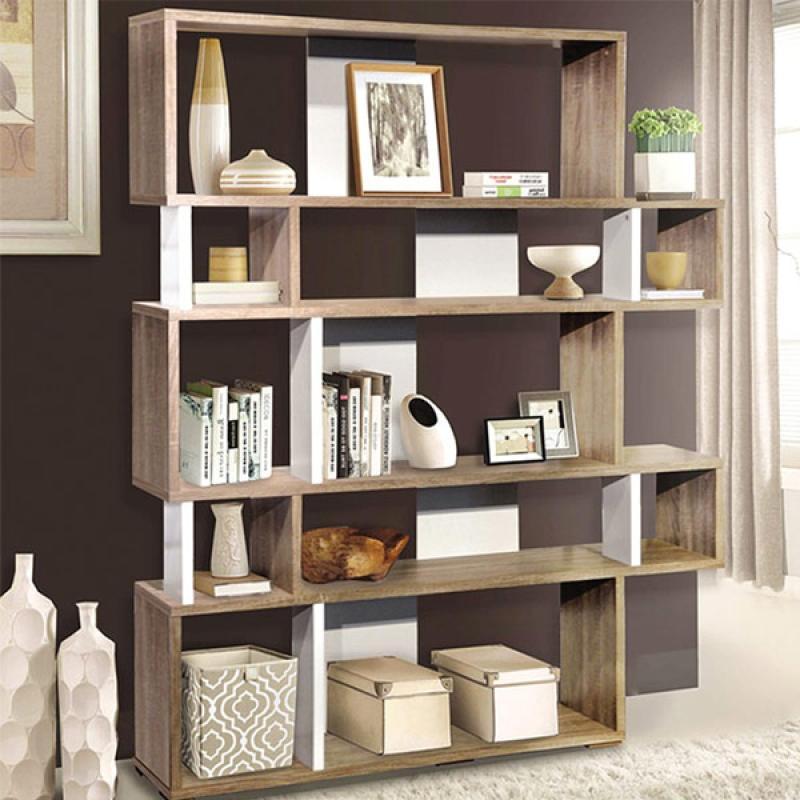 Offo Living Olive Bookshelf Rak Buku