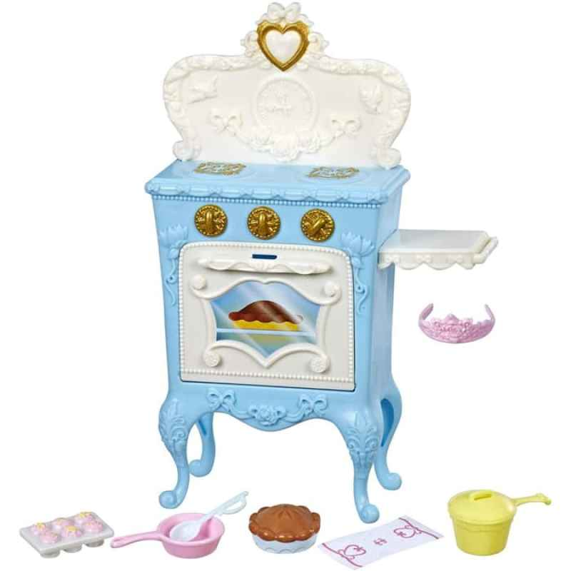 Frozen Mega Kitchen With 17 Accessories Pink and Blue Girls Pretend Toys