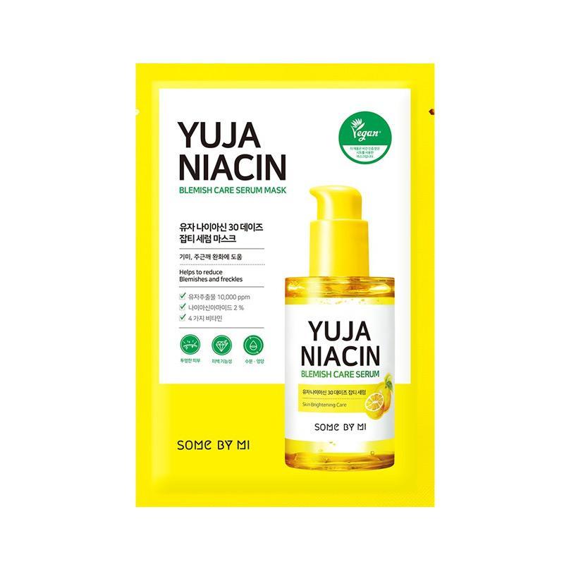 SOMEBYMI Yuja Niacin Blemish Care Serum Mask