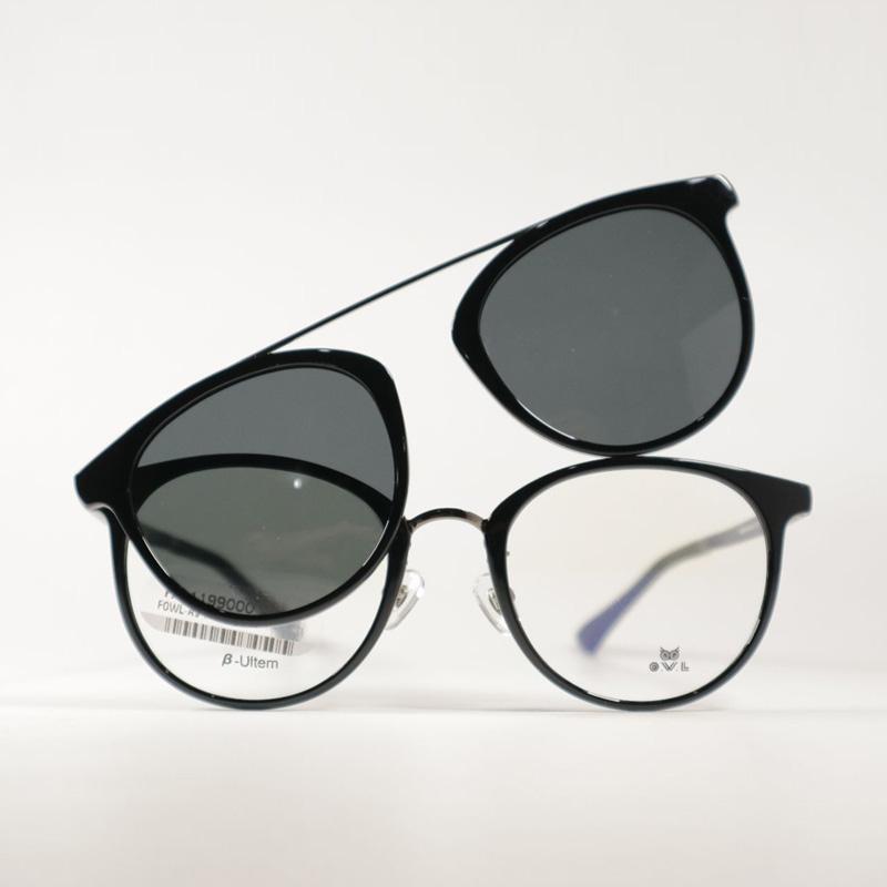 OWL Eyewear Clip On Curve Kacamata Exclusive Blibli Free Lensa Paket