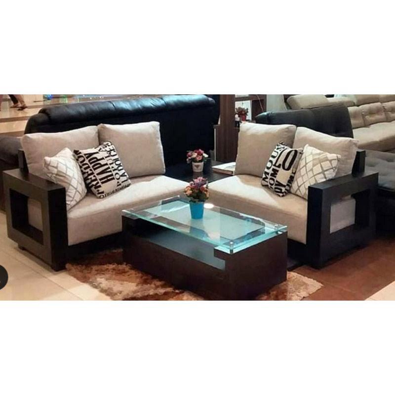 Jual Crown Furniture Aston Sofa Sudut Minimalis Area Bandung Pre Order Online Desember 2020 Blibli