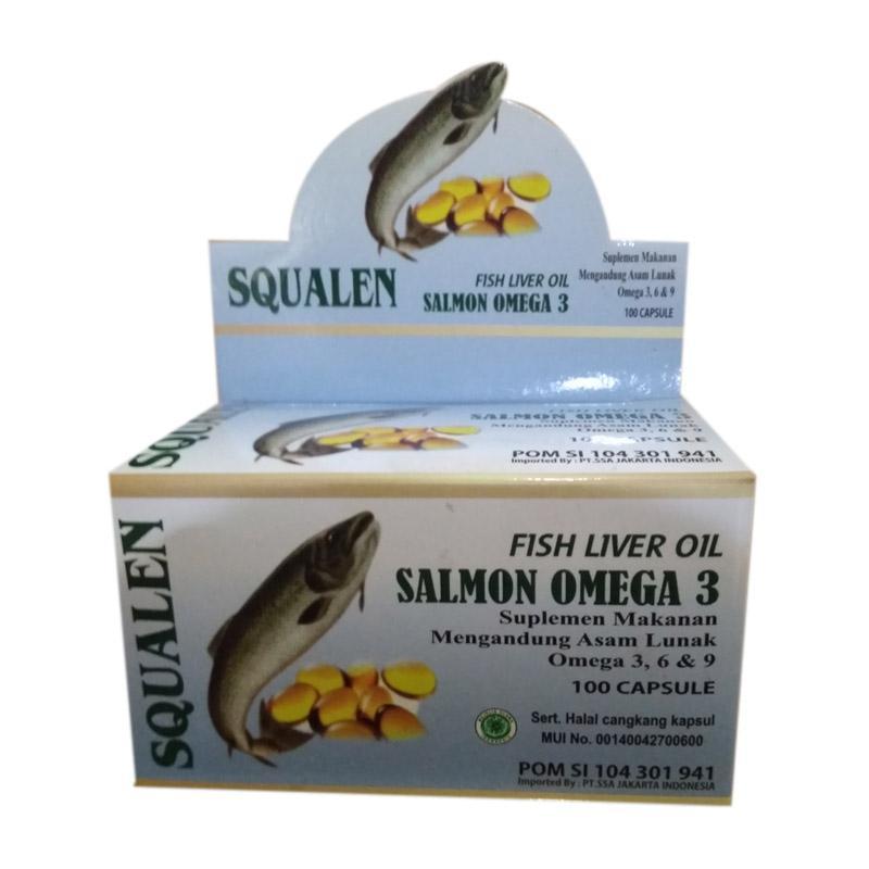 Jual Squalen Gold Minyak Ikan Salmon Squalen Omega 3 Vitamin Otak Anak Dan Dewasa Online Februari 2021 Blibli