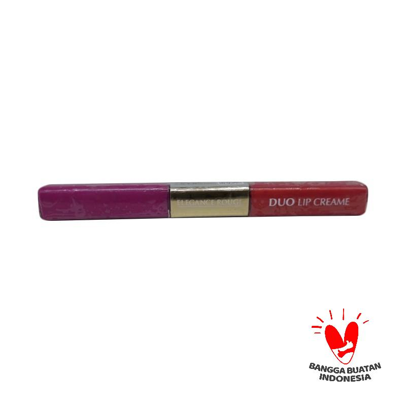 ELEGANCE ROUGE 108 Opal Duo Long Lasting Matte Lip Cream Golden Carnelian 114