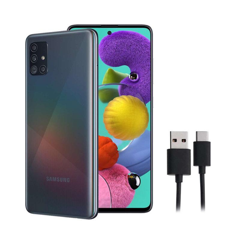 harga RABU GARING - Samsung Galaxy A51 Smartphone [8GB/128GB] + Free Kabel Data Type C Blibli.com
