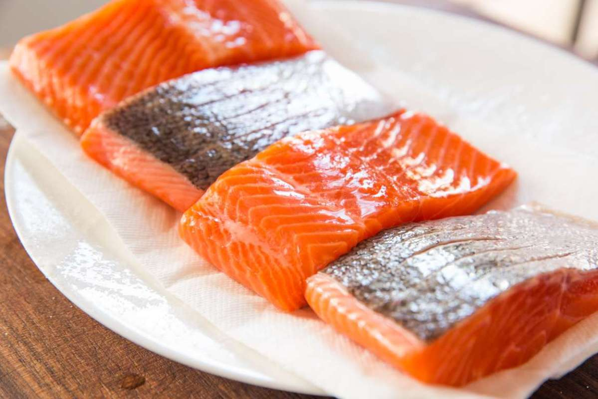 Jual Ikan Salmon Trout Fillet Makanan Segar [200g] Online Desember 2020 |  Blibli