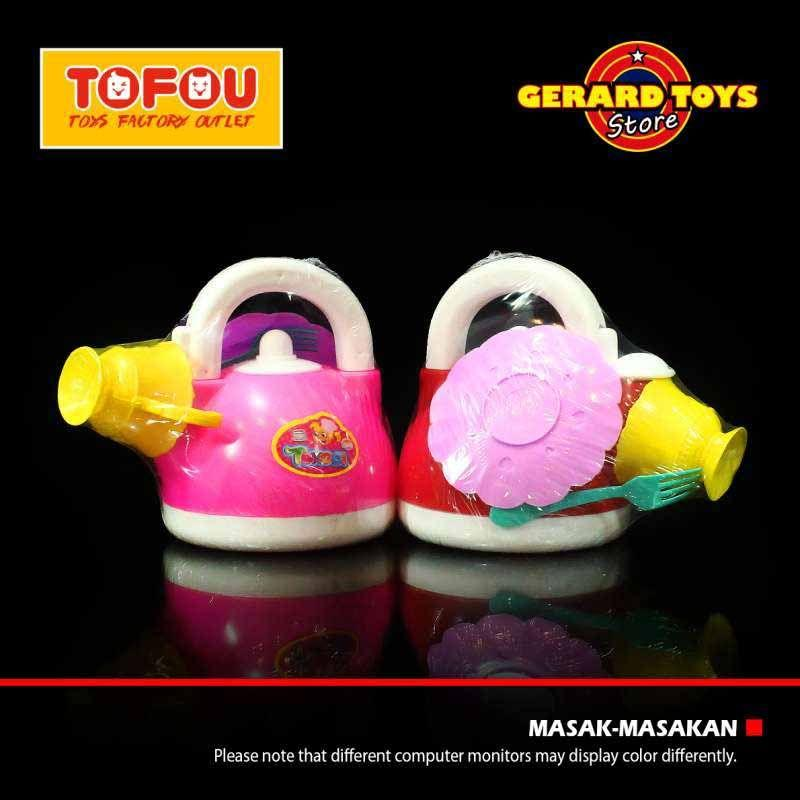 Jual Tofou Mainan Masak Masakan Teko Ceret Tekoci Oct2024 Online November 2020 Blibli Com