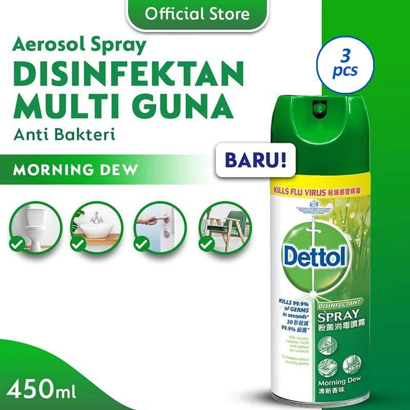 Dettol Morning Dew Disinfectant Spray