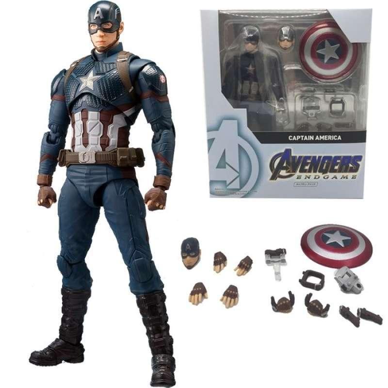 Jual Fast Tech Shf Captain America Avengers Endgame Action Figure Online Desember 2020 Blibli