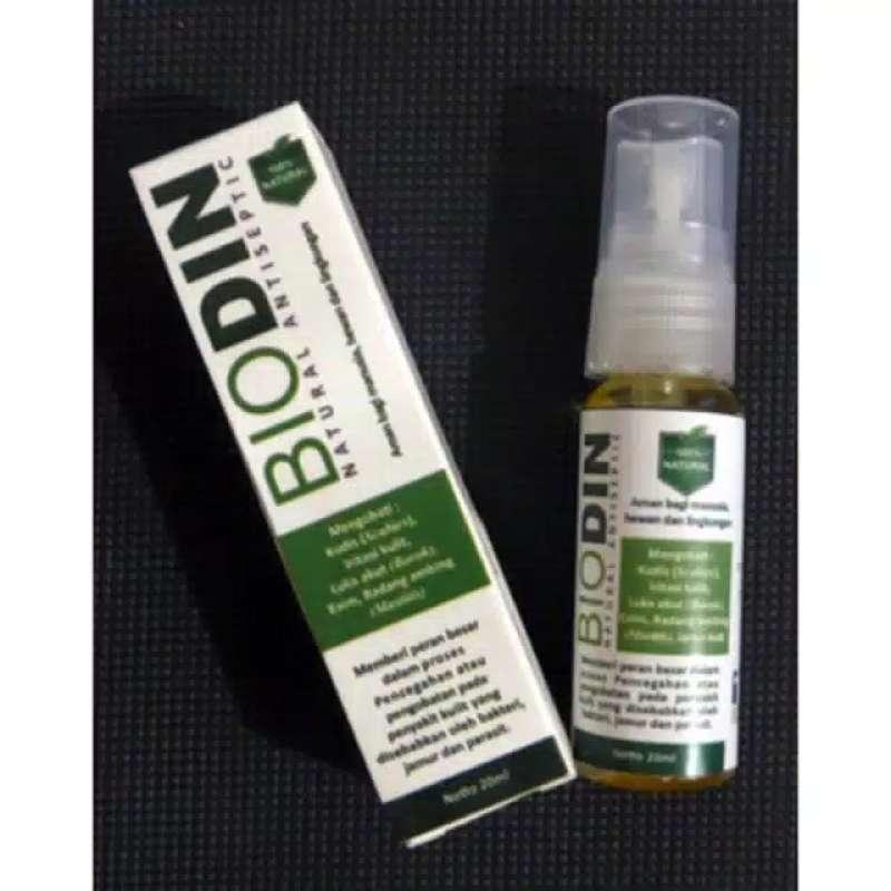 Biodin Spray Obat Kulit Hewan 20 gram