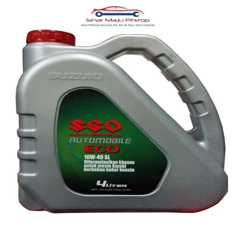 Jual Suzuki Genuine Oil Sgo 10w 40 Synthetic Eco 4 Liter Original Pelumas Oli Mesin Mobil Bensin Suzuki Apv Ertiga Karimun Baleno Online Februari 2021 Blibli