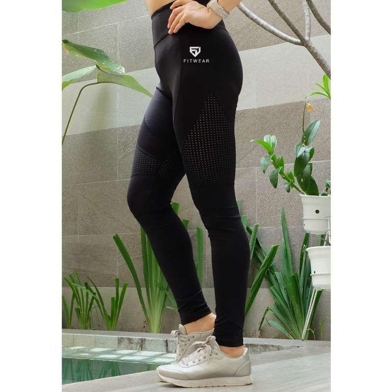 Jual Forever 21 Sheer Legging Olahraga Wanita Fitness Zumba Yoga Black Online Oktober 2020 Blibli Com