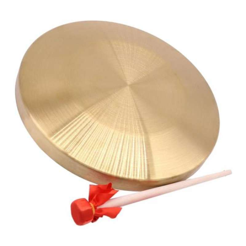 15 5cm Diameter Metal Hand Cymbals Gong Band Percussion Set Musical Toy