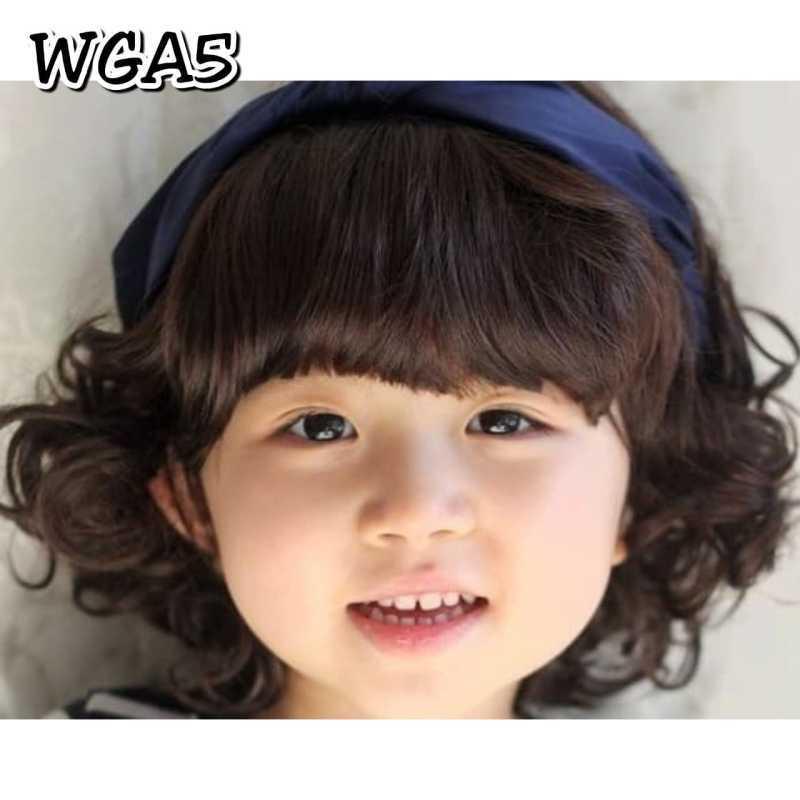 Jual Wig Anak Poni Depan Rambut Palsu Pendek Keriting Warna Coklat Tua Nomor 5 Online April 2021 Blibli