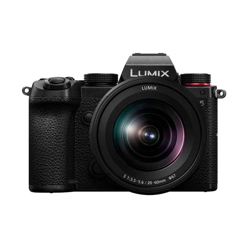 Panasonic Lumix DC S5 Mirrorless Digital Camera with 20 60mm Lens f 3 5 5 6