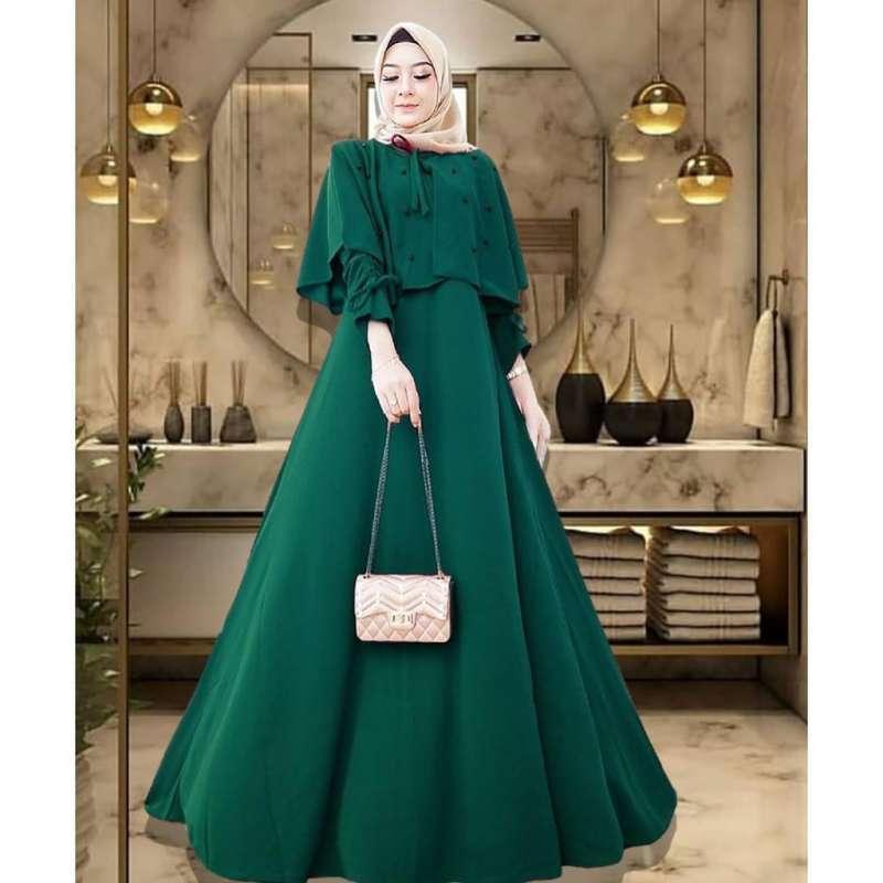 Jual Caca Dress Outfit Kondangan Gamis Syari Gamis Fashion Fashion Style Quinella Online Maret 2021 Blibli