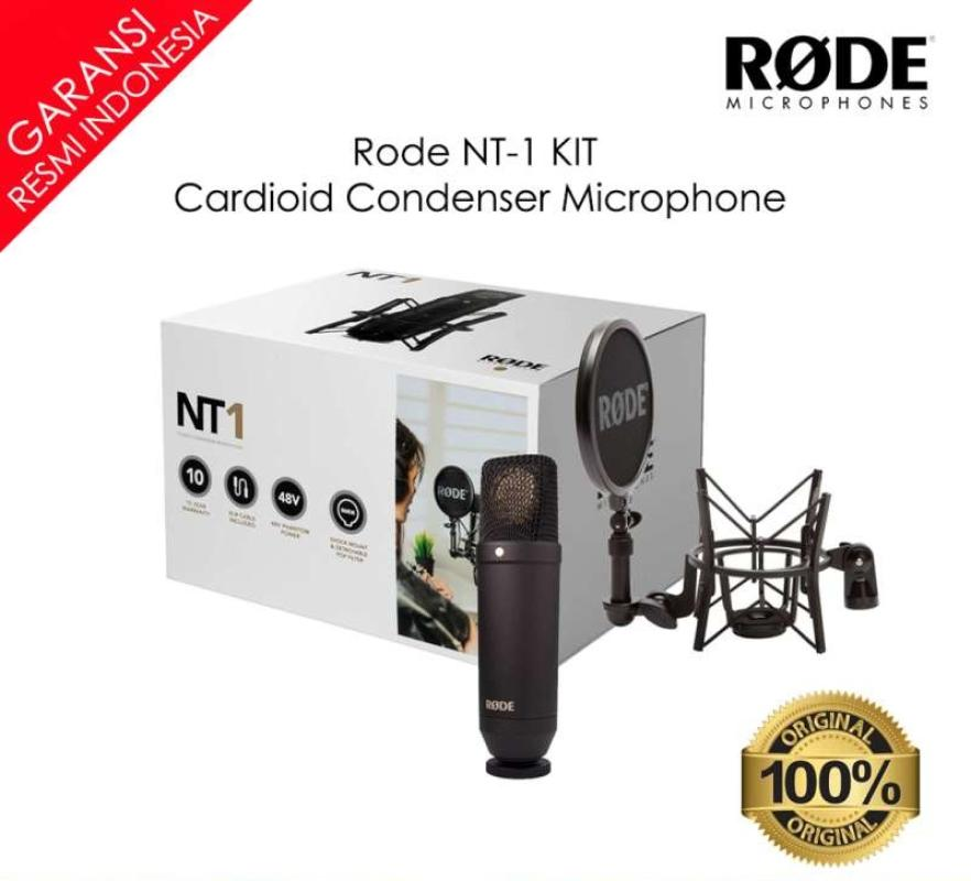 INSTAXSHOP Rode NT1 Kit Complete Studio Audio Interface With Microphone NT 1