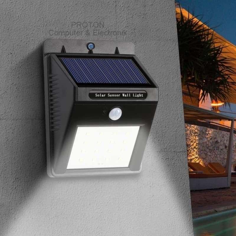 Jual Oem Ip65 Lampu Taman Outdor Tenaga Matahari Solar Cell 20 Led Anti Air Online April 2021 Blibli