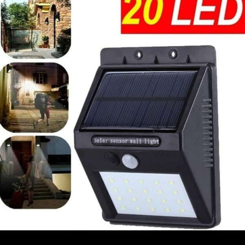 Jual Oem Ip65 Lampu Taman Outdor Tenaga Matahari Solar Cell 20 Led Anti Air Online April 2021 Blibli