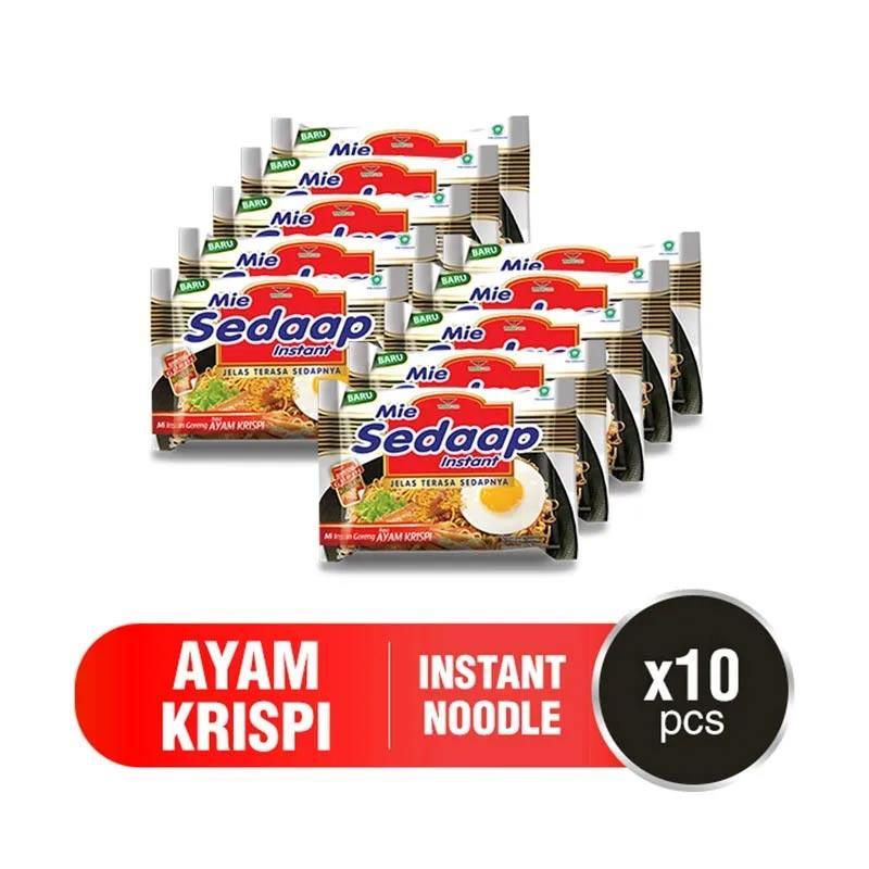 Bagikan facebook facebook mail tag label Blibli Histeria 12 12 2020 s d 13 Des 2020 Sedaap Mie Goreng Ayam Krispi 88 g x 10 pcs