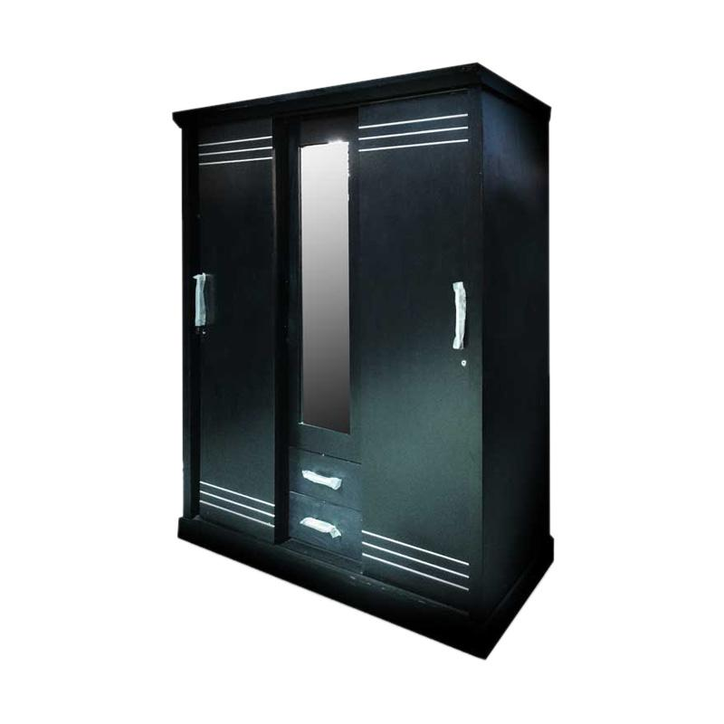 harga CBJ LP3P Clarity FG 01 Sliding dan Kaca Lemari Pakaian [3 Pintu] Blibli.com