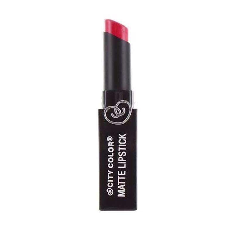 City Color Matte Lipstick - Crimson