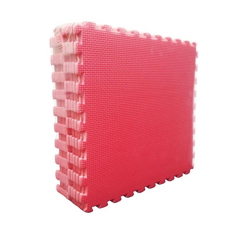 Evamat Puzzle Polos Alas Lantai - Red [30 x 30 cm]