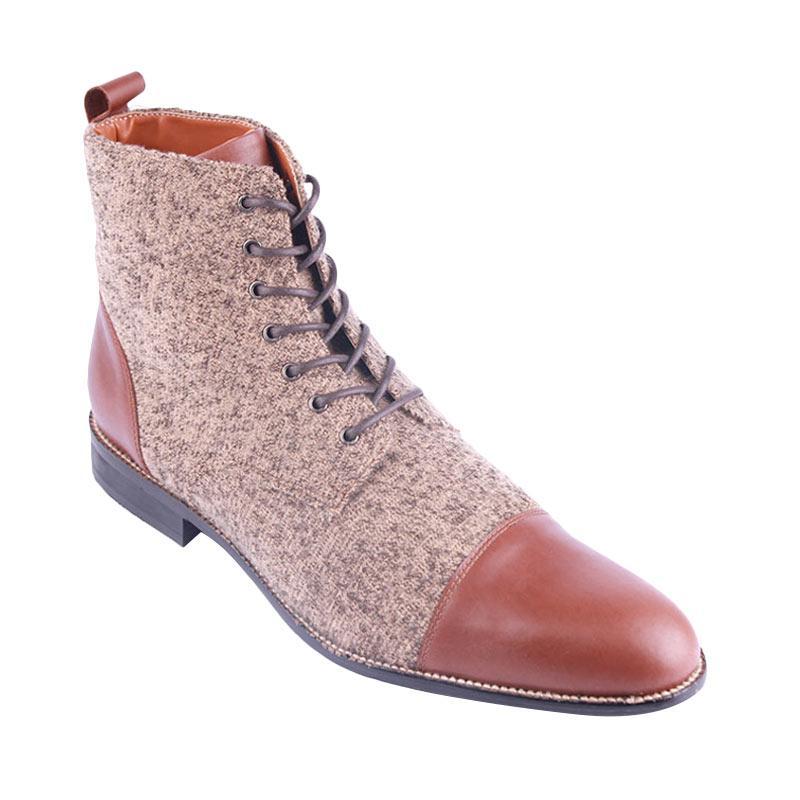 Ftale Footwear Fabrizio Mens Shoes - Brown