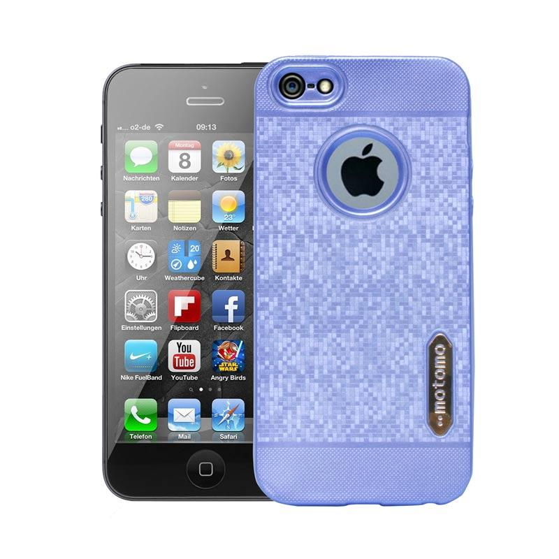 Motomo Softcase Casing for iPhone 5 - Blue