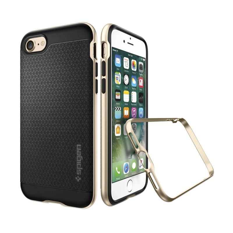Spigen Neo Hybrid Casing for iPhone 7 Plus - Champagne Gold