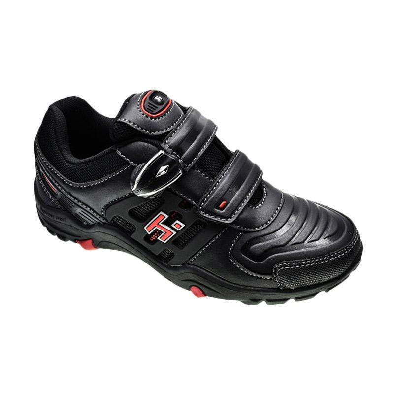 harga Homyped Astro 02 Sepatu Sekolah Anak - Black Blibli.com