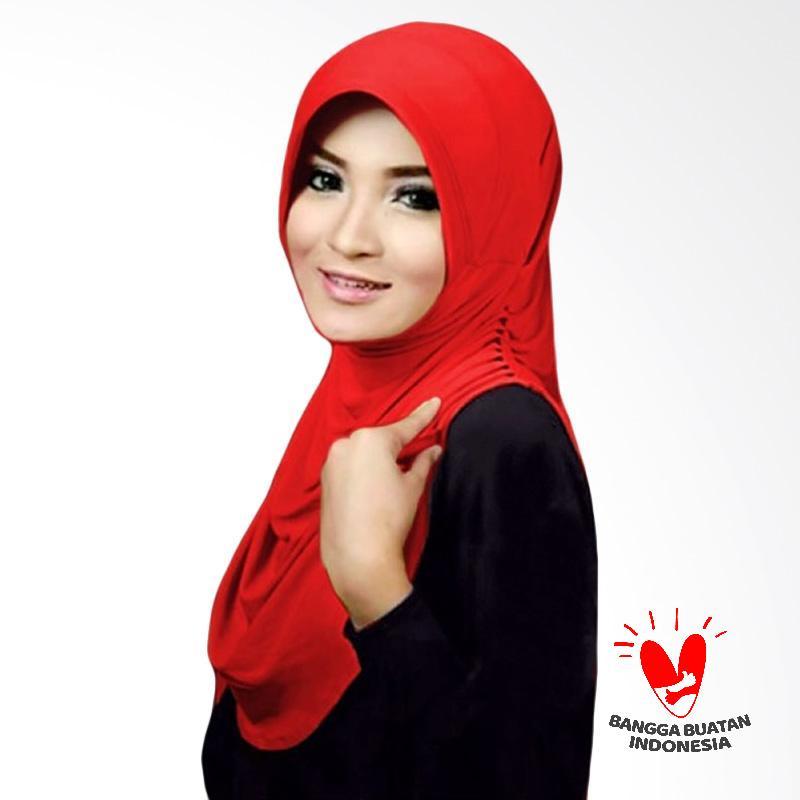 Milyarda Hijab Instant Rumana - Merah