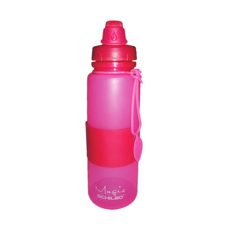 Nomuri Silikon Botol Air - Merah Muda [650 mL]