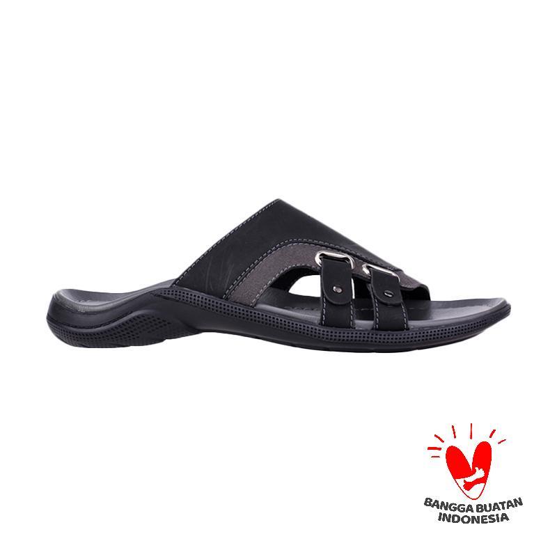 Raindoz Sandal Atman RCI 117 Sandal Pria - Black