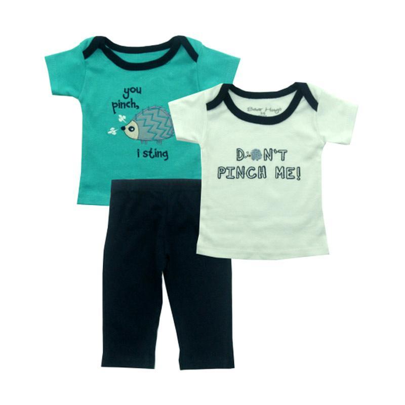 Bearhug Landak Set Pakaian Anak Laki-laki - Hijau