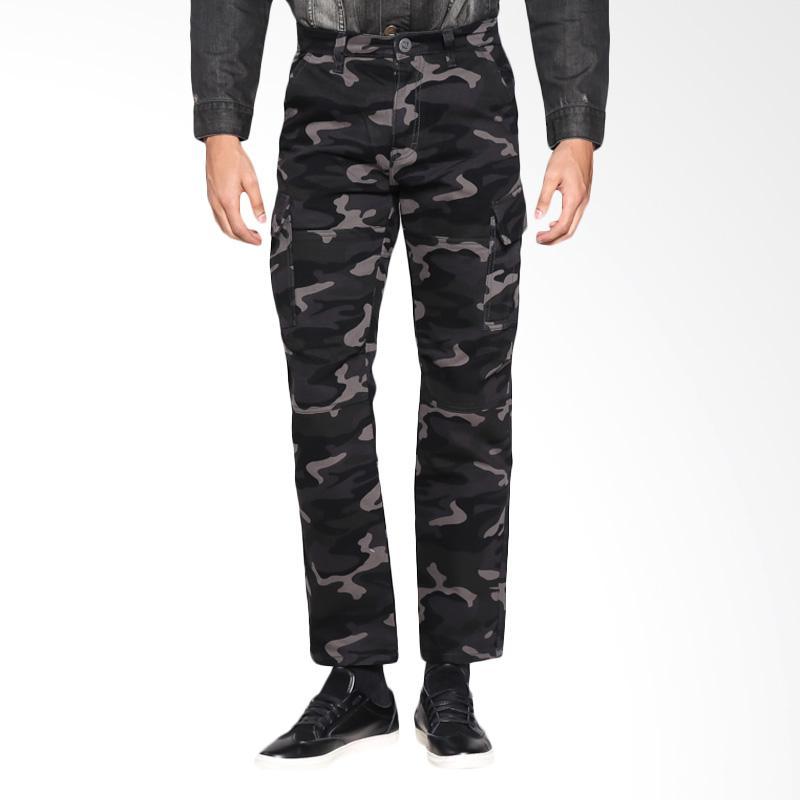 Slayer Cargo Celana Panjang Bawahan Pria