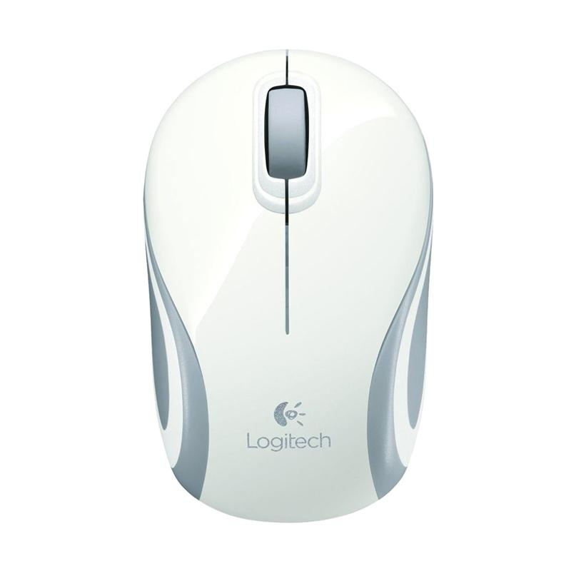 Logitech M187 Wireless Mini Mouse - White