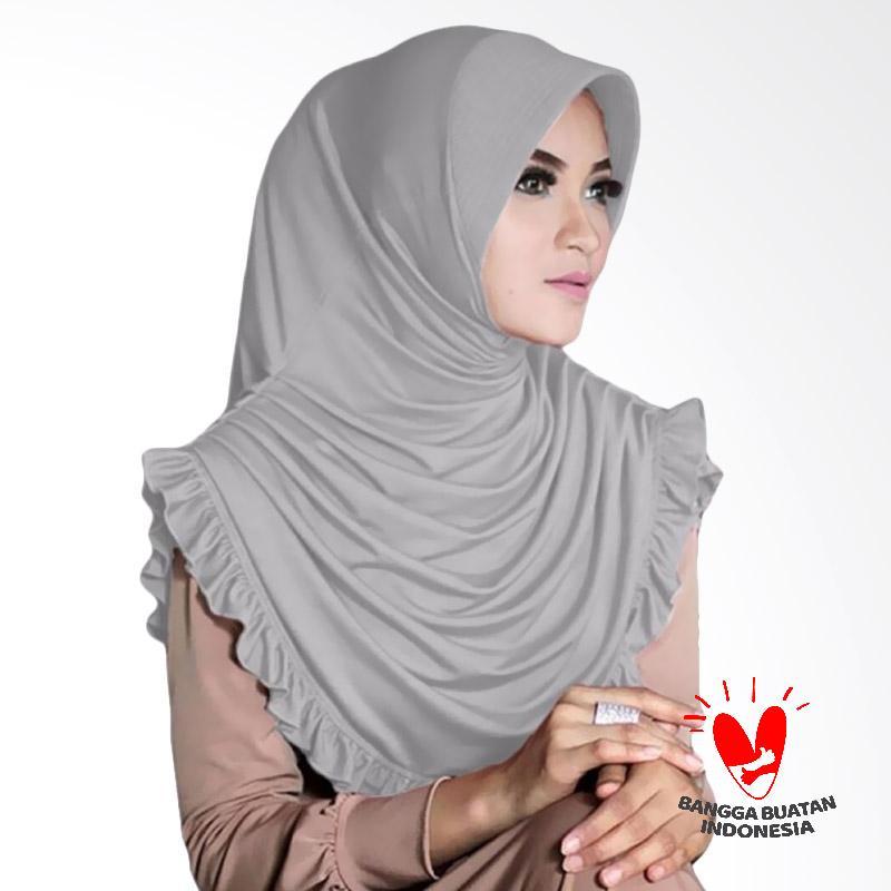Milyarda Hijab Sofia Kerudung - Abu abu