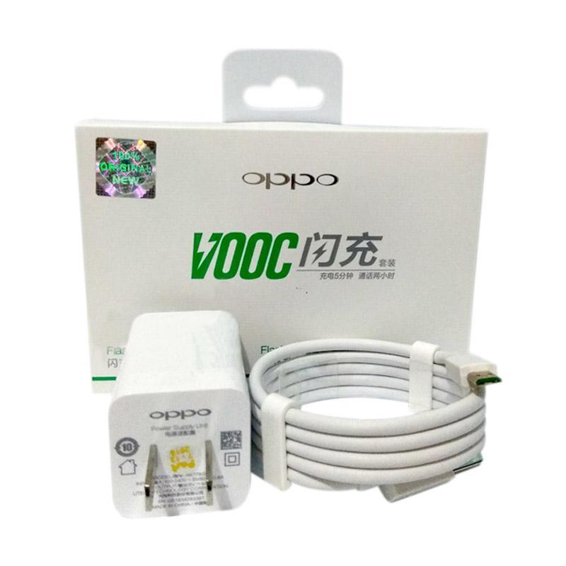 OPPO VOOC Fast Charging Original Charger for OPPO Mirror R7 [4A/5V-4A1].White