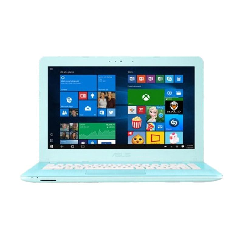 harga Asus X441NA-BX005D AQUA BLUE - [N3350/2GB/500GB/14