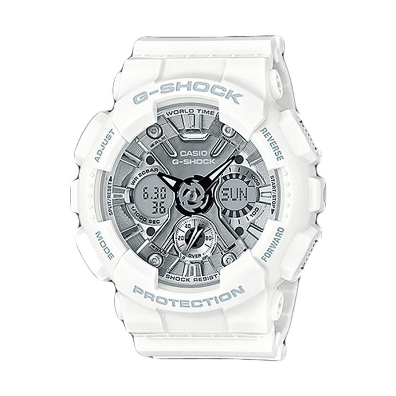 CASIO G-Shock Jam Tangan Pria GMA-S120MF-7A1DR - White