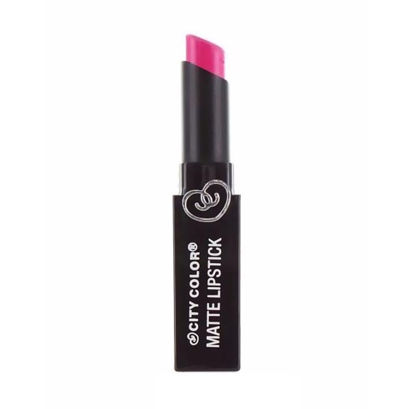 City Color Matte Lipstick - Hot Pink