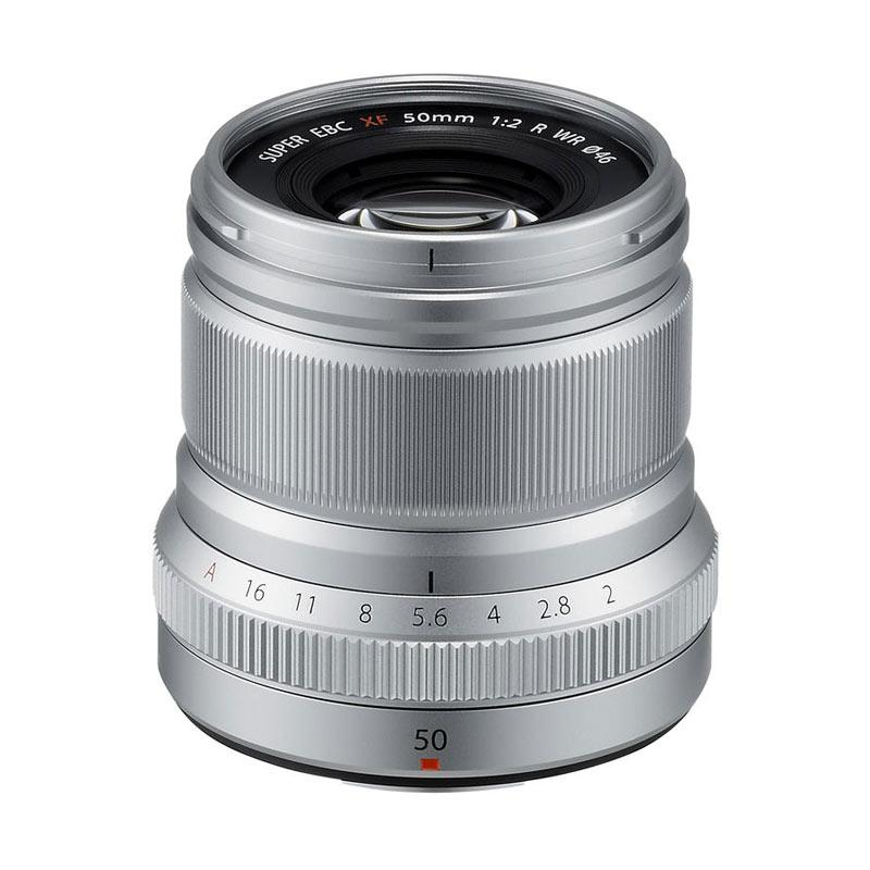 Fujifilm XF 50mm f2 WR Lensa Kamera - Silver